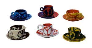 Set tazzine da caffè Maghi di Ozzy