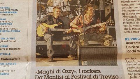 Festiva Rock di Treviso Maghi di Ozzy