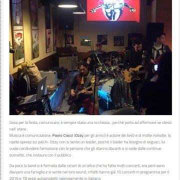 I Maghi di Ozzy su All Music News